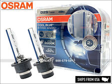 2x NEW! OSRAM 66240 CBI 6000K D2S HID XENON Bulbs +20% Brighter (PAIR)