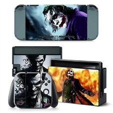 Joker Nintendo Switch Protective Skin 4 Pc Sticker Set - #0065