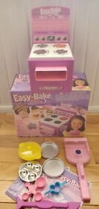 Recalled Rare Easy Bake Oven 2005 Model W/ Accessories & Box Works