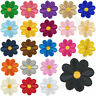 10-100 Daisy Patch Embroidered Applique Cloth Iron/Sew-On Sun flower Patch Badge