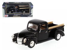 1940 Ford Pickup Black 1:24 Diecast Model - 73234bk *