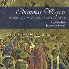 Apollo's Fire And Jeanette Sorrell - Christmas Vespers: Music Of Michae (NEW CD)
