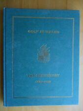 BOOK - GOLF IN WALES The Centenary 1895-1995 - John Hopkins - Hbk - WGU