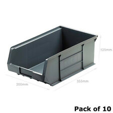 XL4 Grey Picking Bin Size 4 (10 Pack) Recycled Plastic