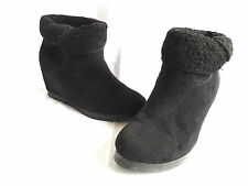 Unbranded Suede Ankle Boots Pull On Shoes for Women