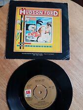 "HUDSON FORD Burn Baby Burn 7"" Vinyl VG+ 1974"