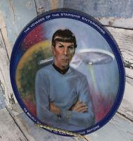 "1983 Star Trek Collector Plate ""Mr. Spock"" Plate Number 1513B  by Susan Morton"