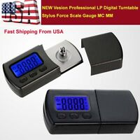 NEW Vesion Professional LP Digital Turntable Stylus Force Scale Gauge MC MM -US