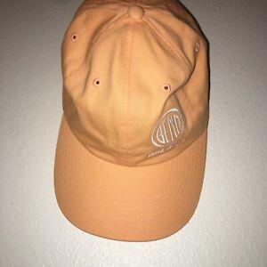 Bend Oregon logo souvenir hat orange peachy color logo adjustable 21-1492
