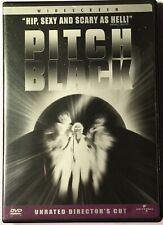 Pitch Black (Dvd, 2004, Unrated, Directors Cut, Widescreen Edition) Watched Once