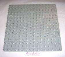 Lego Baseplate Vintage 16 x 16 Classic Light Gray 6399 ** Rare
