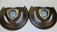 68  69 SHELBY MUSTANG COUGAR ELIMINATOR DISC BRAKE ROTOR SHIELDS NEW