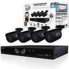 Night Owl WM-8HD10L-4720-1 HD Video Security 8CH 1TB HDD & 4 650 TVL Cameras