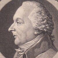 Portrait XVIIIe Dazincourt Joseph Jean Baptiste Albouy Théâtre Comédie Française