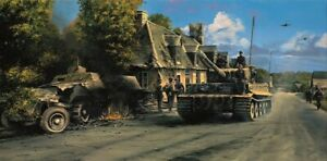 Holding the Line by Richard Taylor signed by WWII Panzer Tank veterans