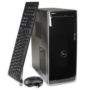 Dell Inspiron 3670 Core i3-8100 3.6GHz 8GB 1TB HDD Win10H DVD±RW Desktop PC