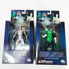 Green Lantern / Superman Armored DC Direct Justice League Series 7 LOT NEW NIB