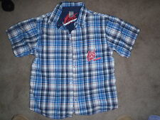 Boys Size 10 Mongoose Summer Button up Shirt