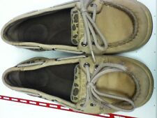Womens Sperry Topsiders leopard print  boat shoes 5.5 M
