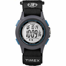 "Timex TW4B10100, Men's ""Expedition"" Black Wrapstrap Watch, Indiglo, Alarm,Chrono"