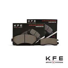 Premium Ceramic Disc Brake Pad FRONT + REAR New Set Plus Shims KFE699 KFE698