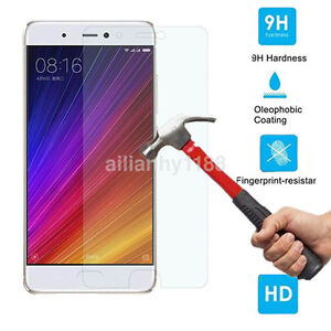 2.5D Tempered Glass Screen Protector For Xiaomi 5S Plus 5C 6 Redmi 4 4A Note 4X