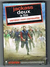 JACKASS DEUX LE FILM - VERSION NON CENSURÉE - DVD NEUF NEW NEU