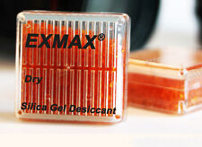 8 x Silica Gel Orange Indicating Desiccant Reusable Drier Box Canister Container