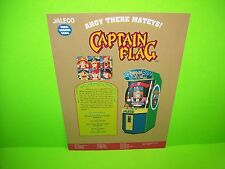 Jaleco CAPTAIN FLAG Original 1993 NOS Video Arcade Game Promo Sales Flyer