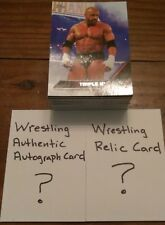 Wrestling Grab Bag 80 Card Lot With Relic & Authentic Autograph WWF WWE WCW TNA