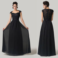 PLUS SIZE Womens Party Ball Gown Wedding Masquerade Long Prom Evening Maxi Dress