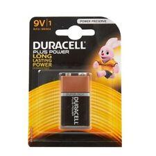2 × pack of Duracell 9V MN1604 Alkaline Duralock Battery