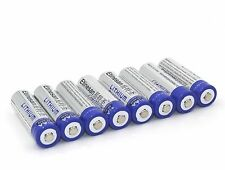 8 x Etinesan Lithium AA Ultimate batteries 1.5V L91 Camera EXP:2030 or better