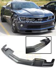 For 10-13 Camaro SS PRIMER BLACK Front Bumper Lower Lip Splitter TL1 Style ABS