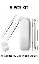 Blackhead Acne Removal Tool,Best Pimple Extractor Kit to Remover Comedone Zits U