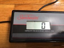 Sunbeam Freight Shipping Scale Freightmaster 150 Lb. Capacity Electronic