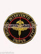 Patch G.I.S. Sniper Gruppo Intervento Speciale Carabinieri Toppa Nero Militare
