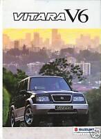 SUZUKI VITARA V6 1995 ? catalogue brochure prospekt dépliant catalog prospectus