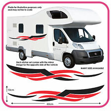 camping-car VINYL graphique autocollants camping-car RV Caravane BOX mh4a