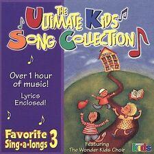 Various Artists : Favorite Sing-A-Longs 3: Ult Kids Song Coll CD