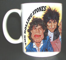 Rolling Stones Caricature Mug Great Design Limited Edition