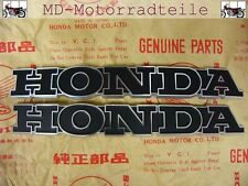 Honda CB 750 Four Sandcast K0 Tankemblem Set Emblem Set right and left fuel tank