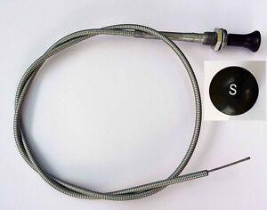 MGA Starter Cable, for LHD (Left Hand Drive) MGA's, MG part AHH5330