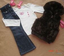 Gymboree Winter Snowflake Pants Top Vest 6-6 Slim NWT