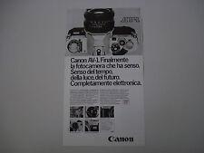 advertising Pubblicità 1979 CANON AV-1