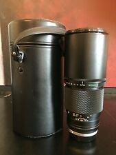 Olympus OM Zuiko Auto-T F4.5 300mm Telephoto Lens with Case and Tripod Mount