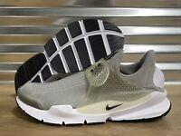 Nike Sock Dart Running Shoes Trainers Medium Grey White SZ ( 819686-002 )