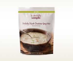6 packages of Tastefully Simple Perfectly Potato Cheddar Soup Mix NEW