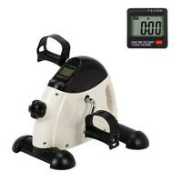 Portable Mini Exercise Bike Hands Feet Trainer Foot Pedal w/ LCD Display Cycling