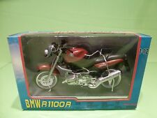 NEW RAY 43553 MOTORCYCLE BMW R1100R -  RED 1:12 - GOOD IN BOX